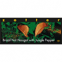 Zotter Brazil Nut Nougat Dark Milk Chocolate Bar 70g